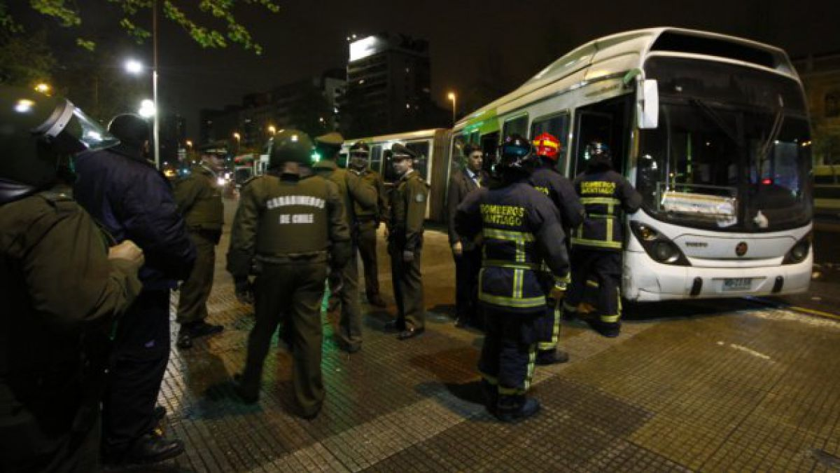 Bus del Transantiago atropelló a un peatón en Estación Central