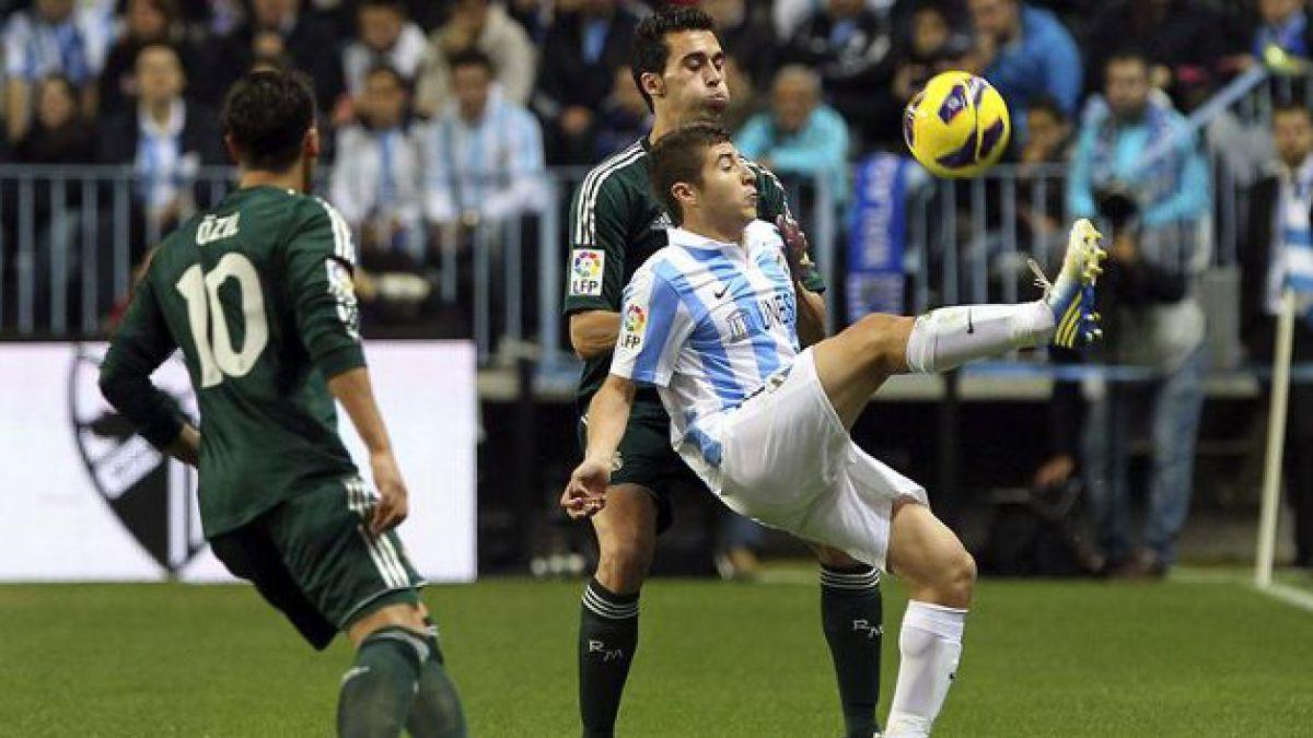Málaga logró histórico triunfo ante el Real Madrid