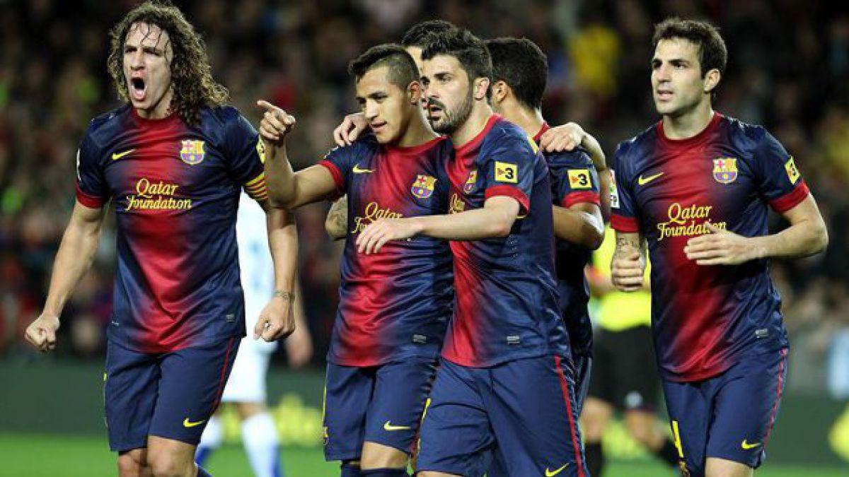 Alexis Sánchez fue protagonista en triunfo del Barcelona