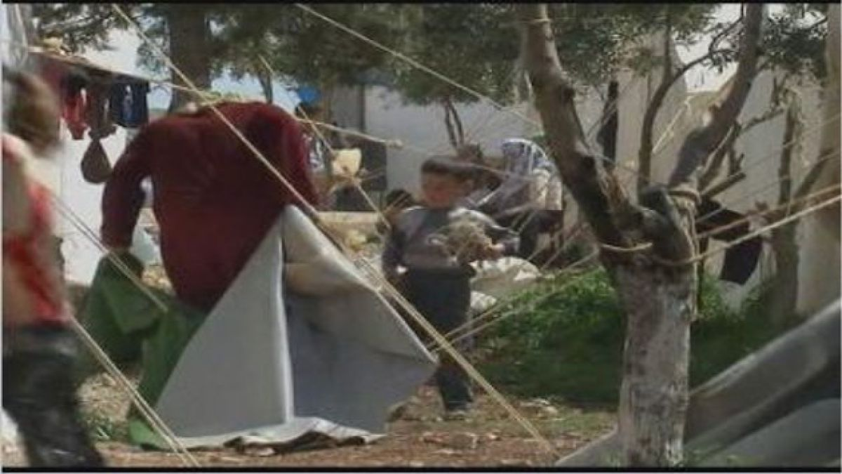 Aumentan a 23 mil los refugiados sirios
