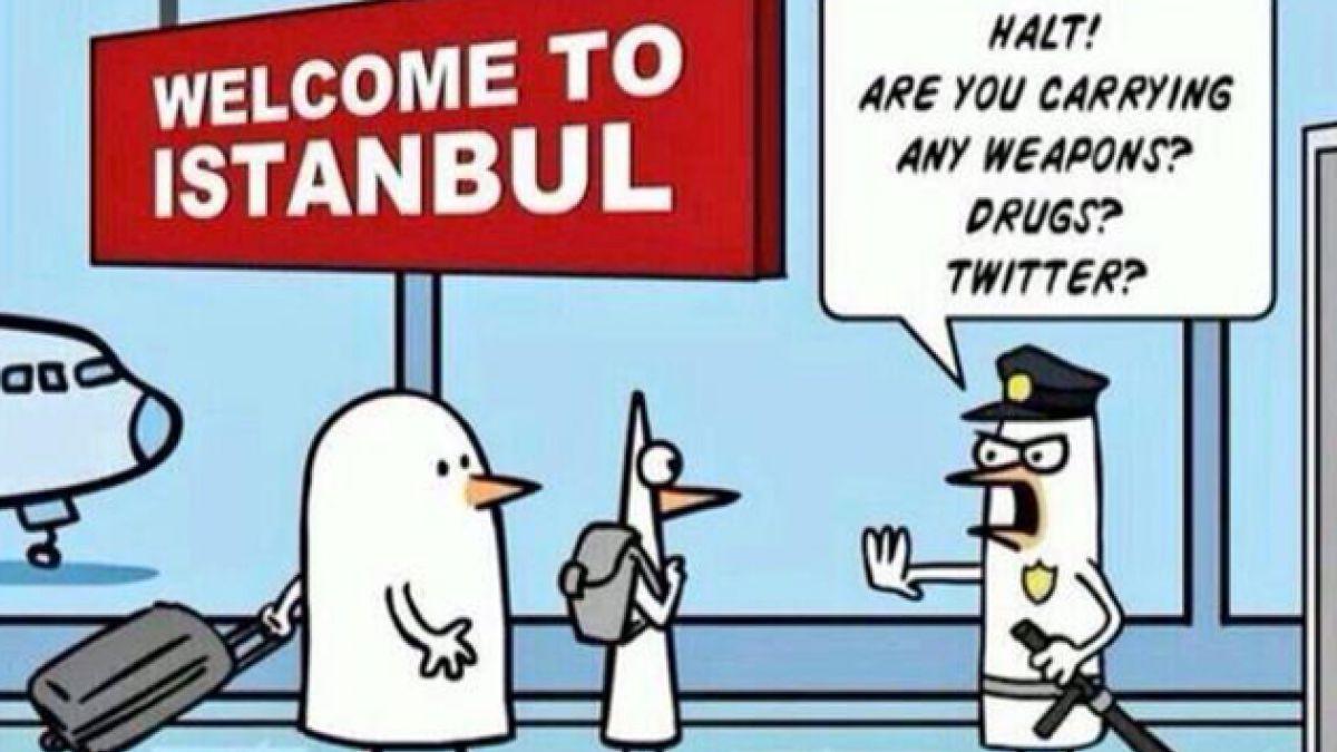 Turcos responden hilarantemente a intento del Gobierno por bloquear Twitter