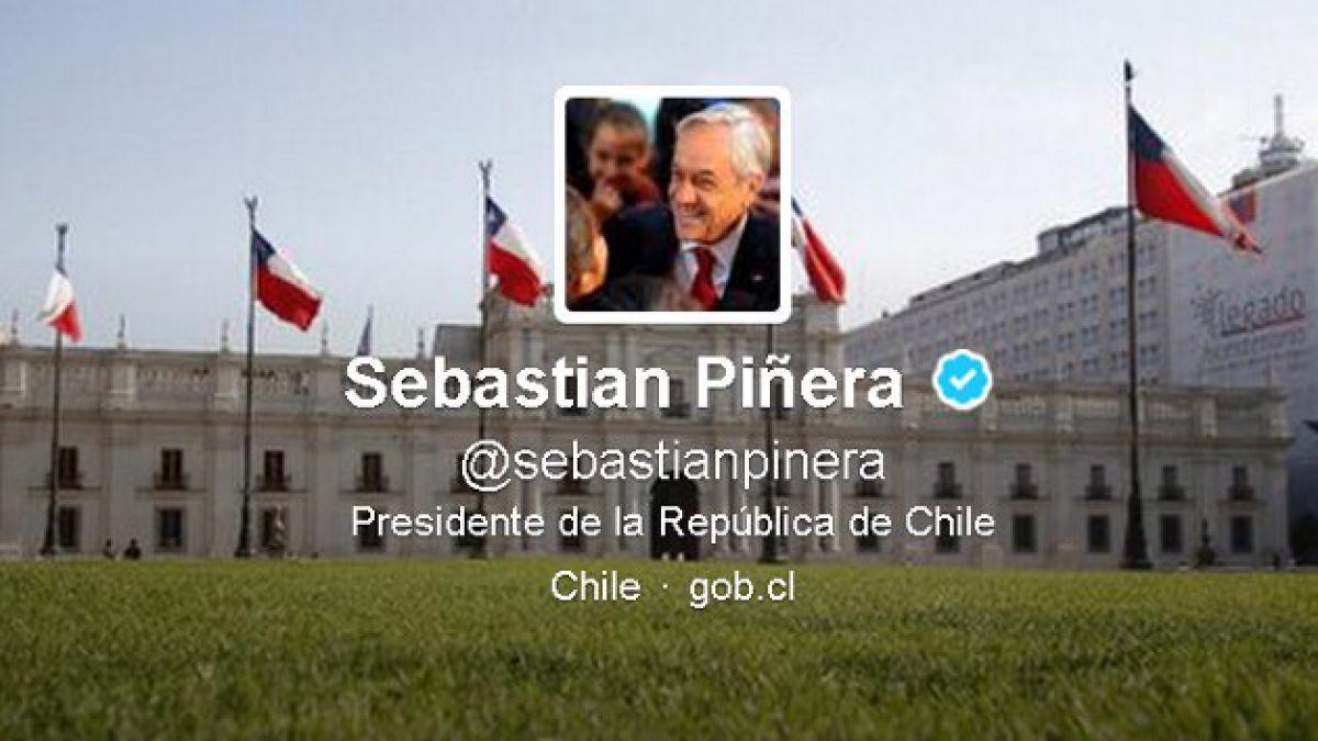 """La presidencia de  Sebastián Piñera en """"tuits"""""""