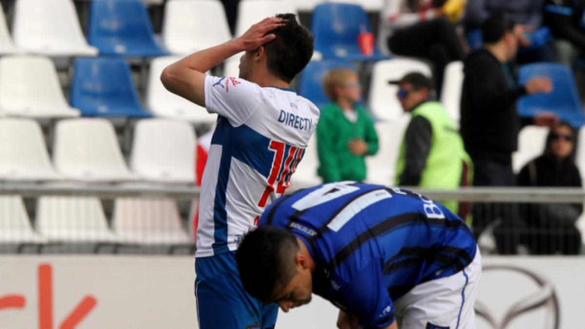 [FOTOS] UC sufre aplastante derrota ante Huachipato en la décima fecha
