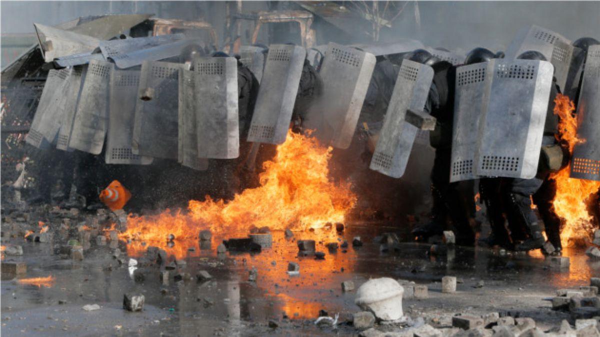 Ucrania: Presidente y opositores firman acuerdo para poner fin a las protestas
