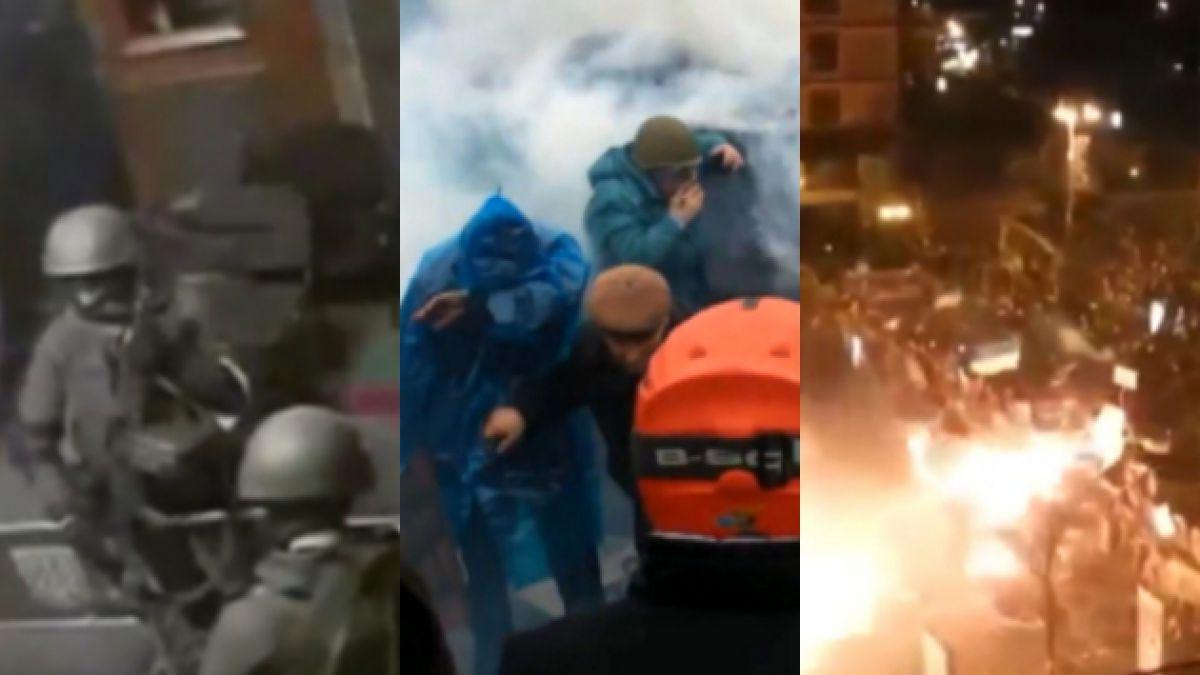 VIDEO: El conflicto en Ucrania registrado por sus ciudadanos