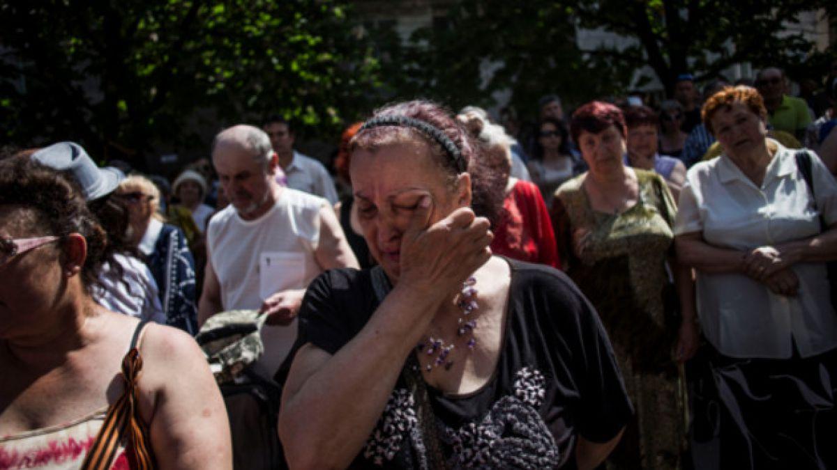 Ucrania reconoce muerte de 14 niños durante enfrentamientos con prorrusos