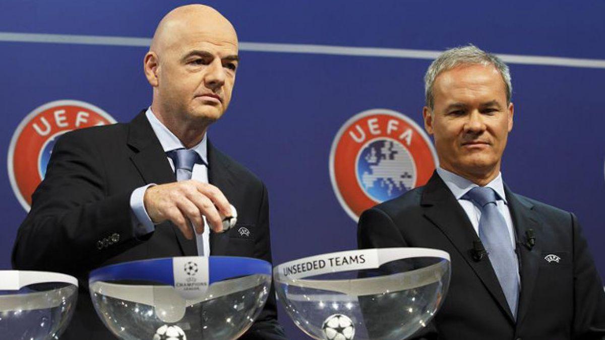 Así quedaron las parejas que disputarán un cupo en la fase grupal de la Champions League