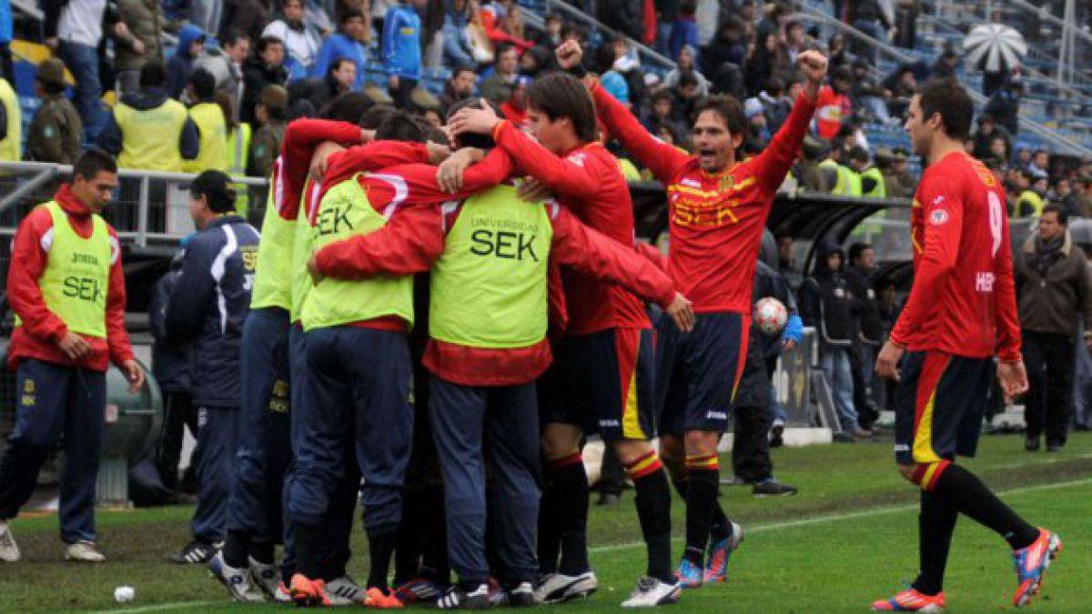 Unión Española es el primer semifinalista de Playoffs