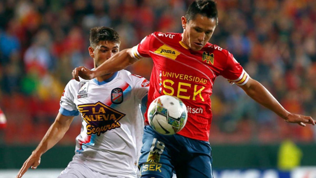 Unión Española dijo adiós a la Copa Libertadores 2014