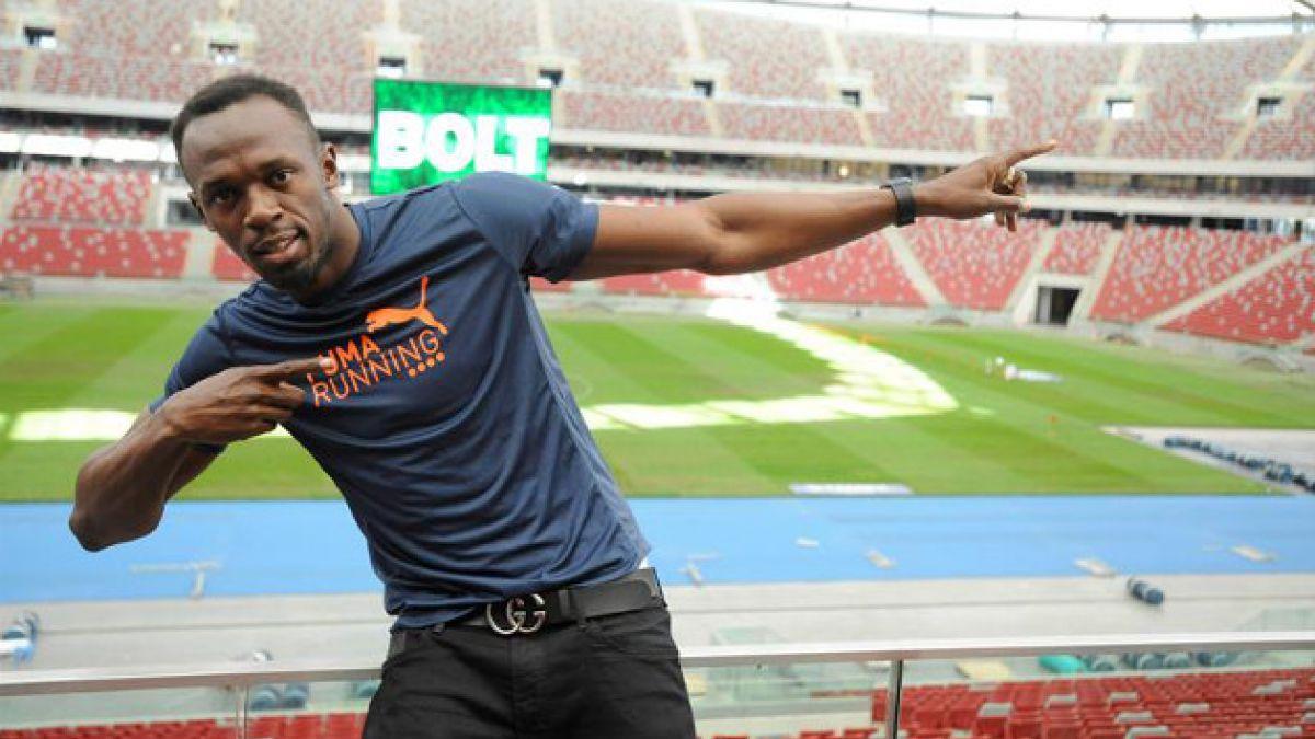 Usain Bolt y sus posibilidades en el fútbol: Leo bien el juego y soy un buen pasador