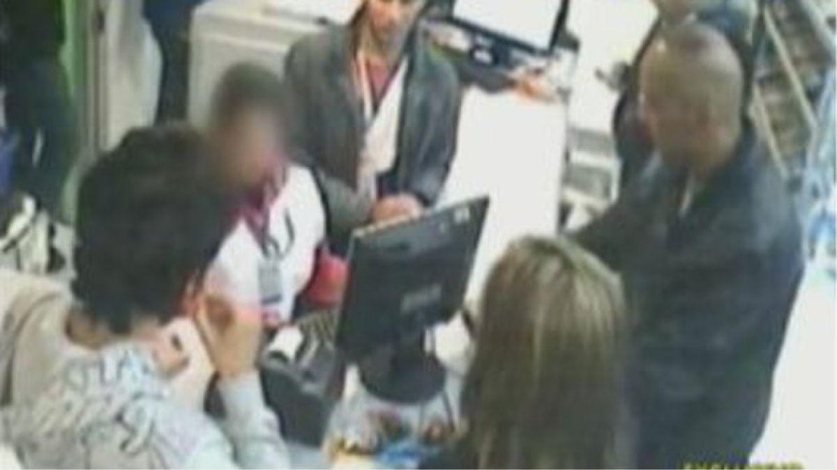 Revelan imágenes del secuestro de Jorge Valdivia