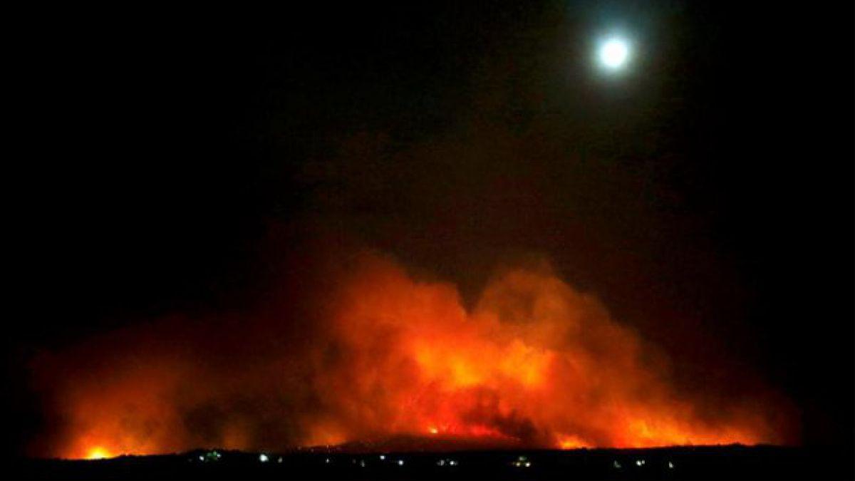 Más de 2.000 evacuados por incendios en Valencia