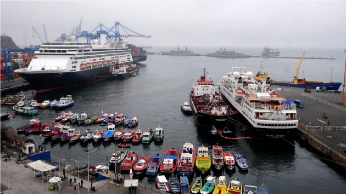 La campaña que busca recuperar el mercado de cruceros en Valparaíso