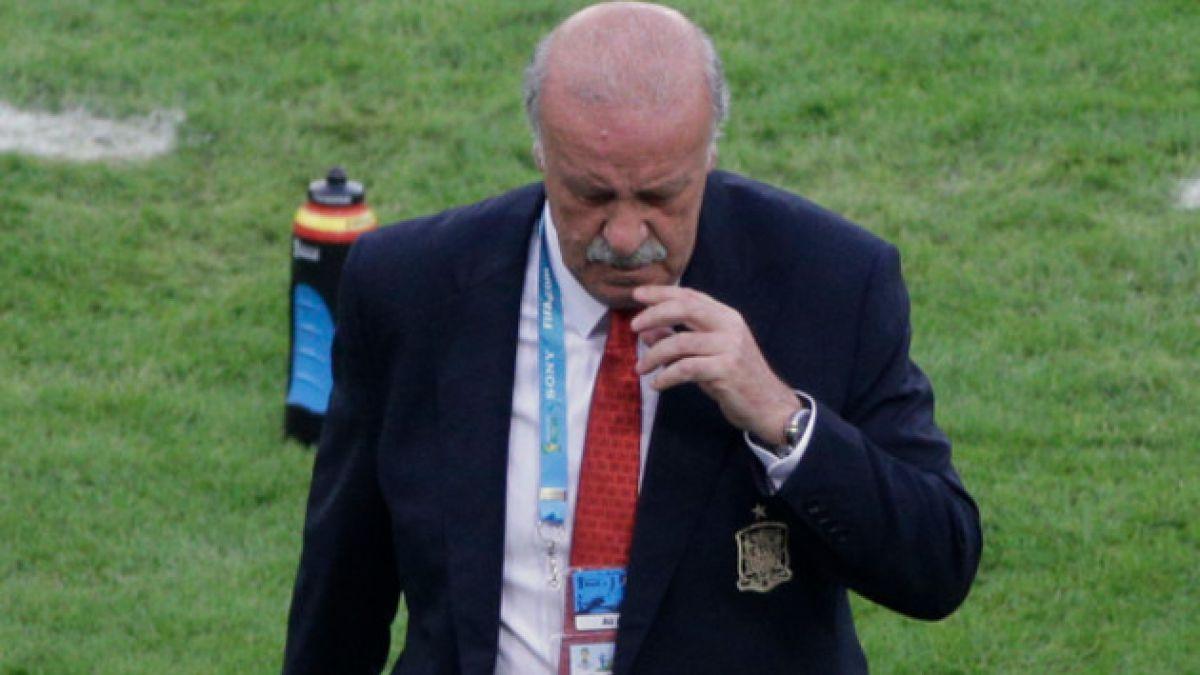Vicente del Bosque tras la eliminación: Chile será un rival complicado para cualquiera