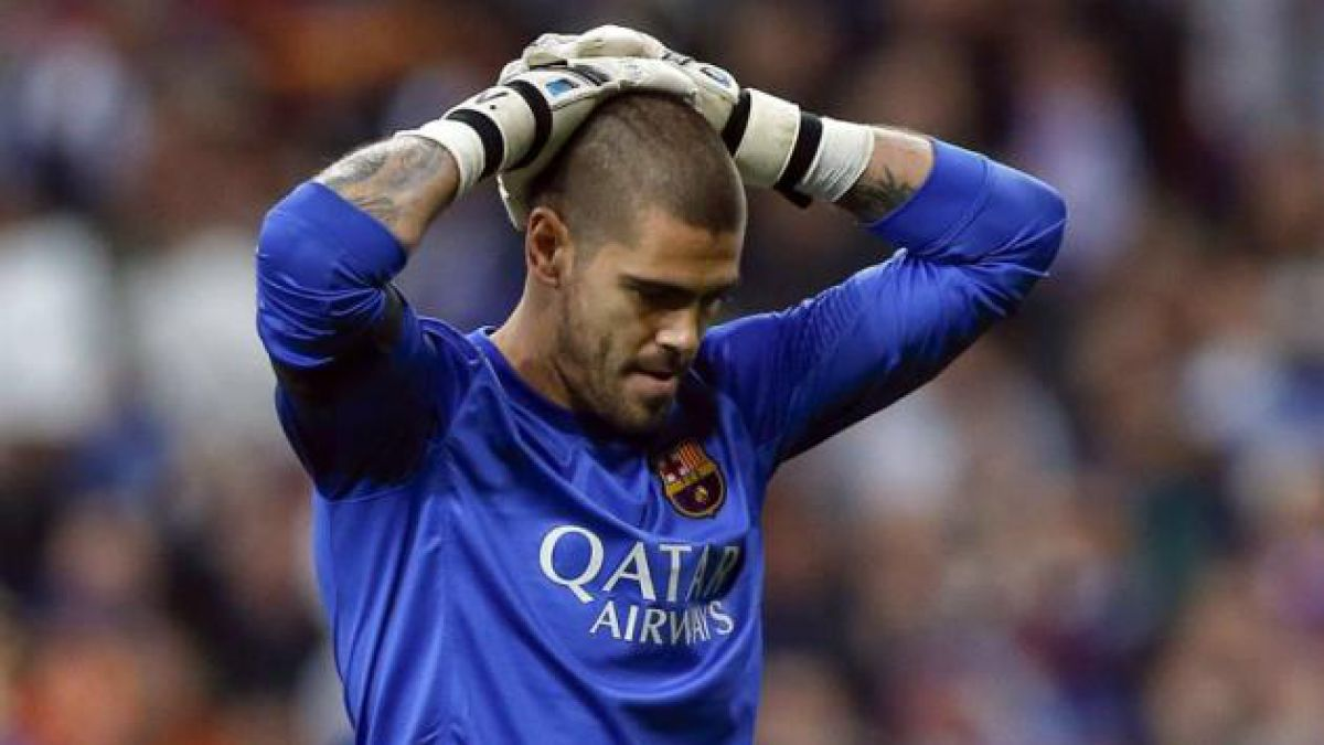 Víctor Valdés se lesiona y no jugaría el mundial por España