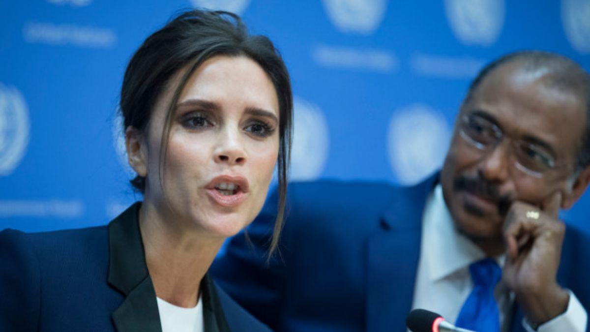 Victoria Beckham es nombrada embajadora de buena voluntad contra el sida