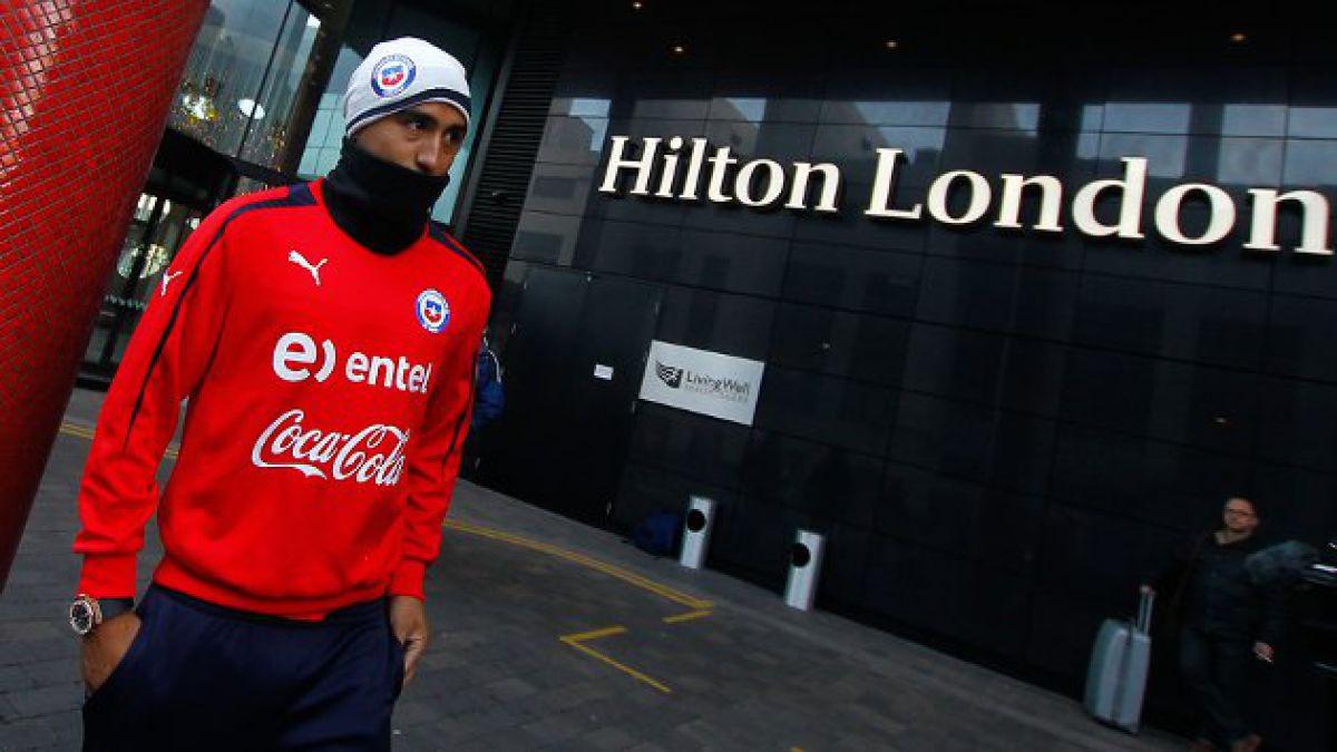Arturo Vidal fue liberado de la convocatoria de la Roja