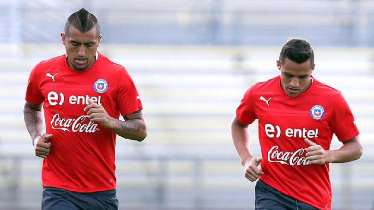 Vidal y Alexis fueron incluidos en los equipos reservas de la FIFA