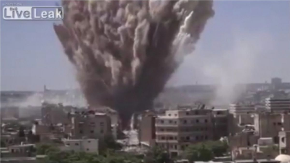 VIDEO: Impactante registro de ataque de rebeldes a fuerzas de Bashar al-Assad  en Siria