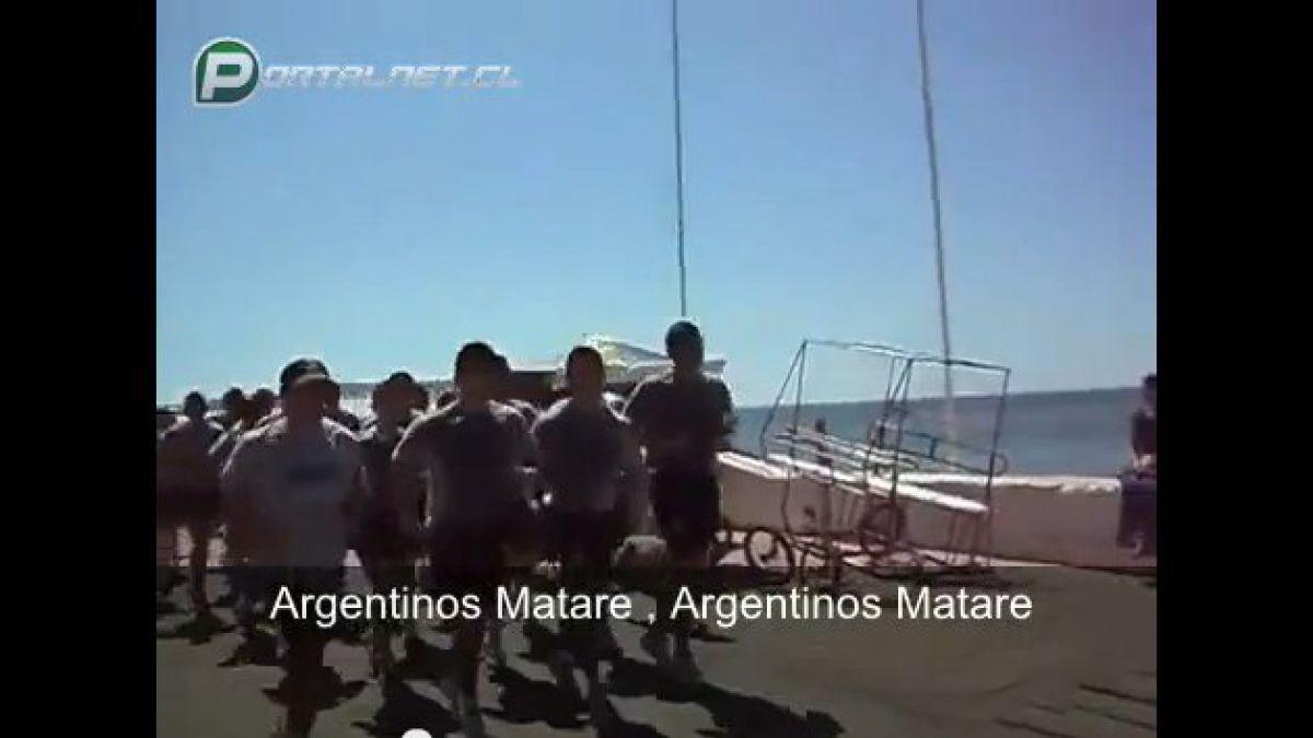 Video de supuestos marinos durante entrenamiento genera polémica