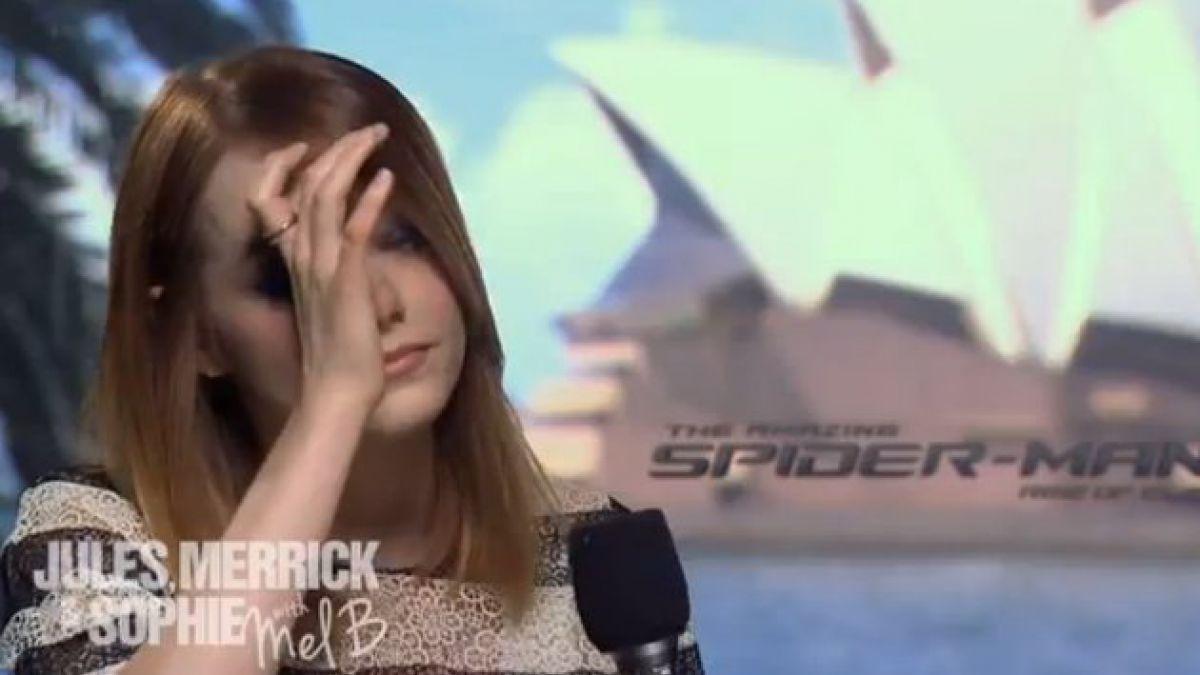 VIDEO: Famosa actriz se emociona al recibir saludo de ex Spice Girl