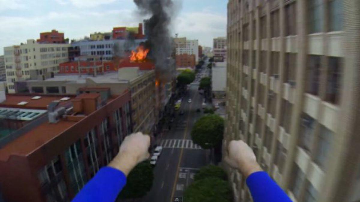VIDEO: Así se ve el mundo a través de los ojos de Superman