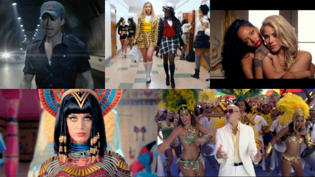 Estos son los 10 videoclips más vistos en YouTube en lo que va del año
