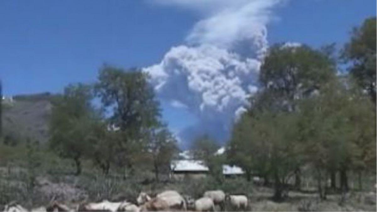 Reunión clave evaluará situación de volcán Copahue