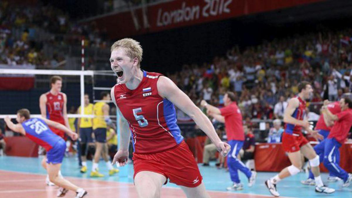 [JJ.OO.] Brasil no pudo en vóleibol y Rusia se quedó con el oro