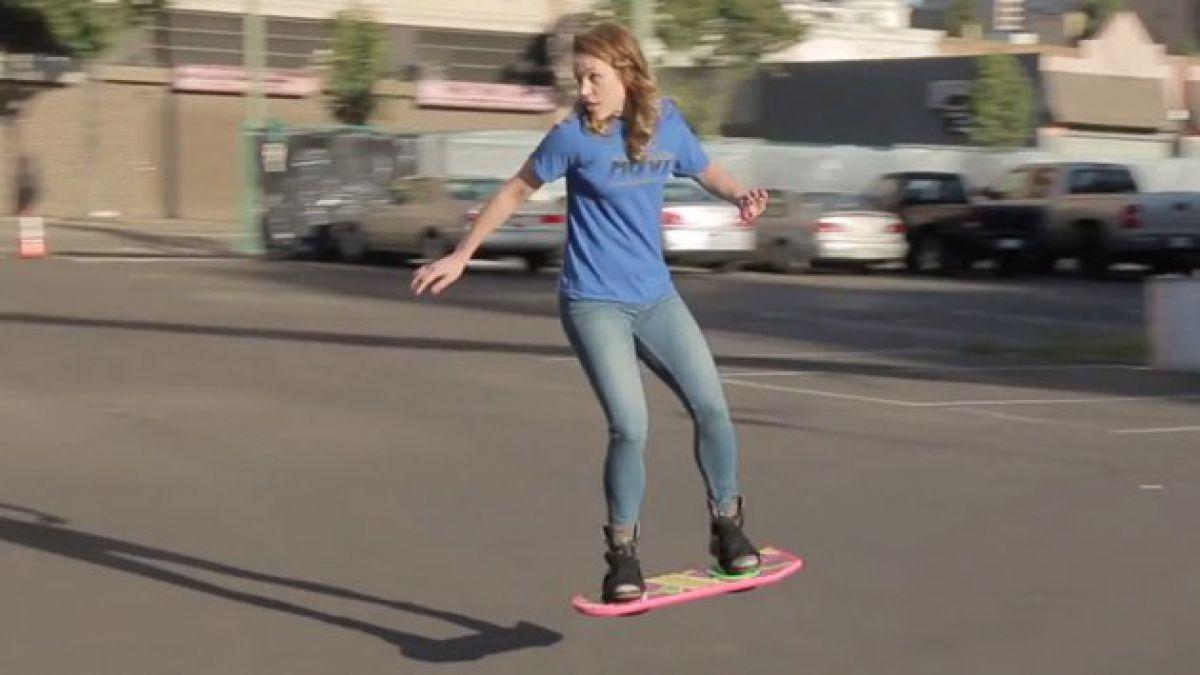 Soñada tabla de skate de Volver al Futuro se hace realidad