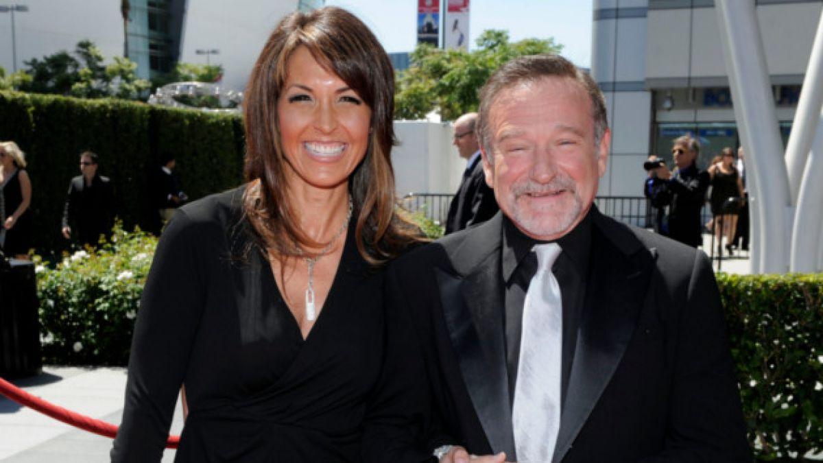 Esposa de Robin Williams revela que actor sufría las primeras etapas de Parkinson