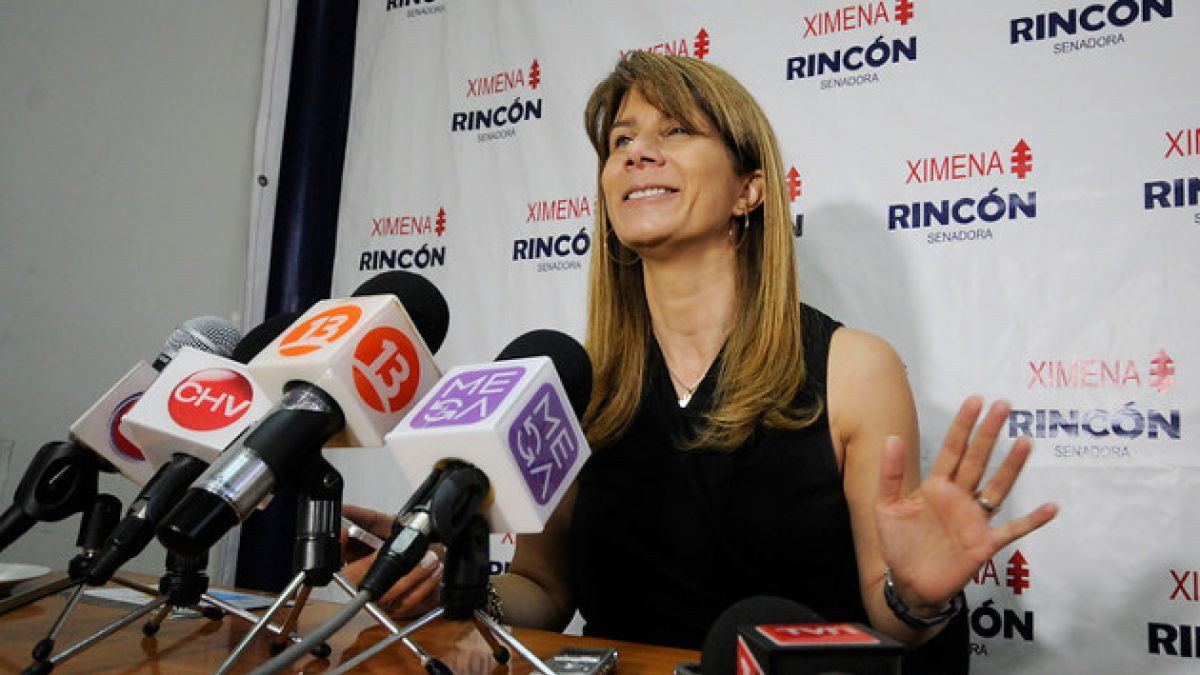 Ximena Rincón reafirma intención de repostular al Senado en 2017