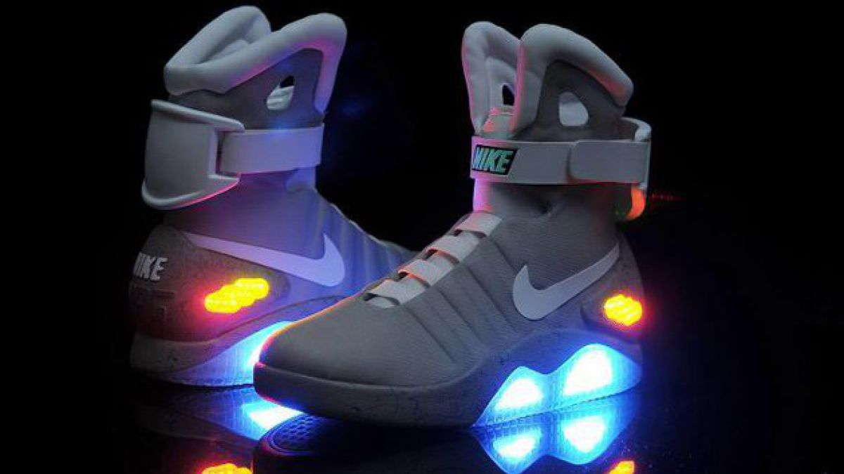 """Nike traerá las zapatillas de """"Volver al Futuro"""" en 2015"""