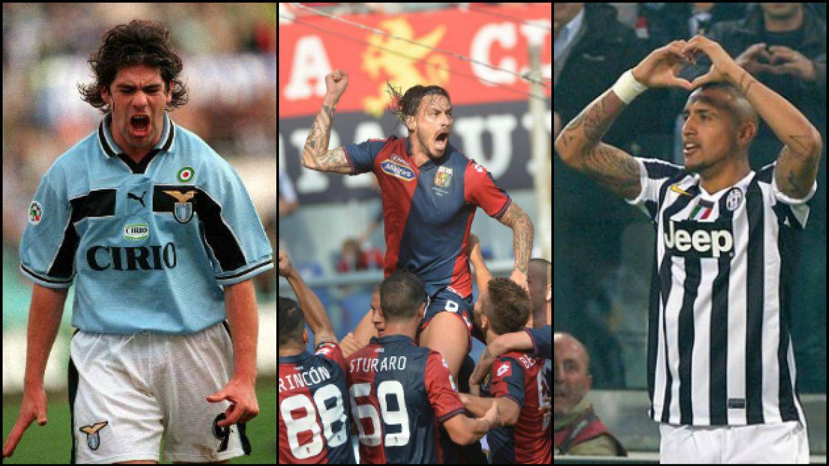 Tras casi seis años en Italia Pinilla entre los máximos goleadores chilenos de la Serie A