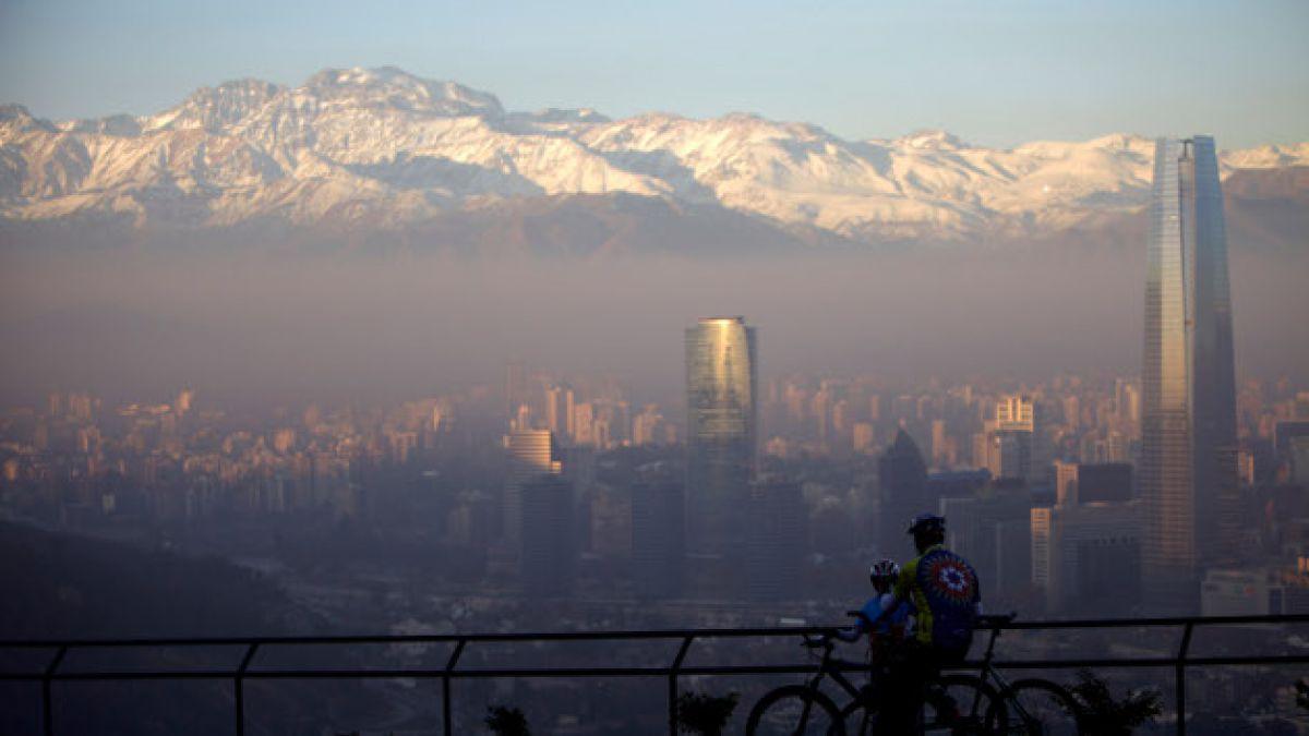 Intendencia decreta alerta ambiental en la Región Metropolitana para este viernes