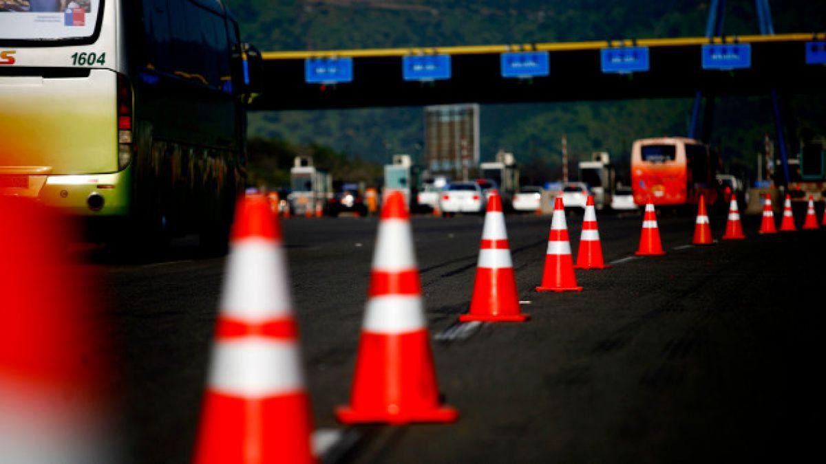 Así se preparan las carreteras por los 270 mil vehículos que abandonarán Santiago el fin de semana l