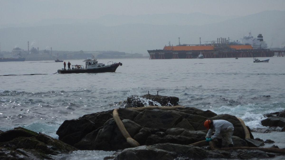 Pescadores de Quintero llegan a un acuerdo económico con ENAP