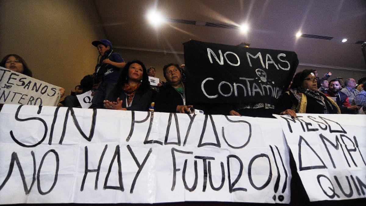 Diputados aprueban medidas por derrame de petróleo en Quintero y piden que Presidenta declare zona d