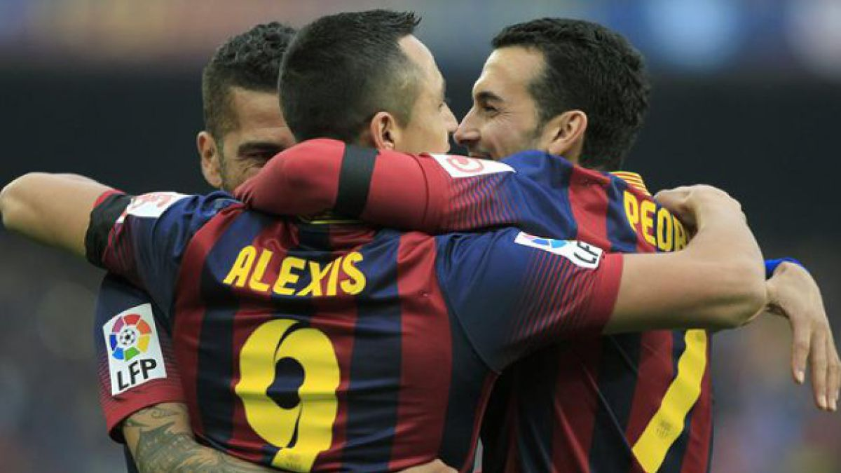 Alexis Sánchez vuelve a anotar por el Barcelona