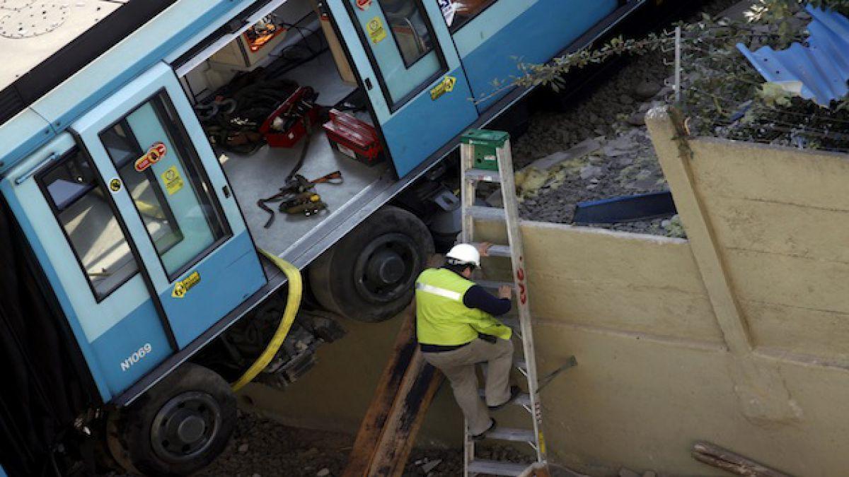 Justicia condena a Metro por descarrilamiento