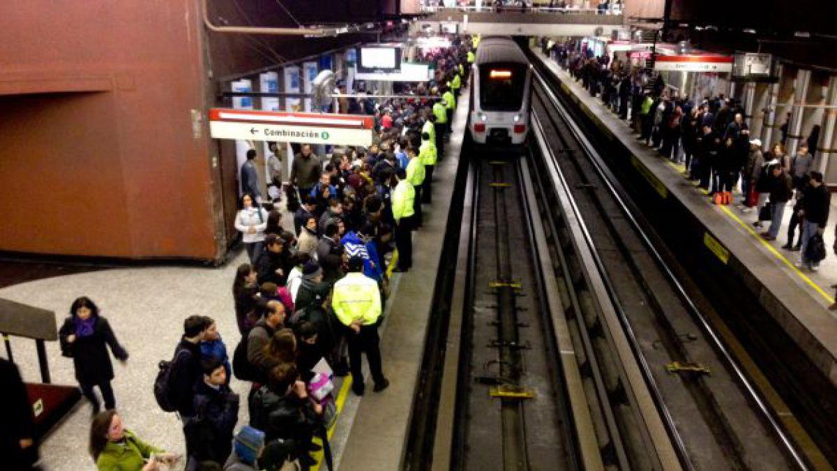 Mejoras al transporte no contemplan medidas para Metro pese a creciente demanda en su uso