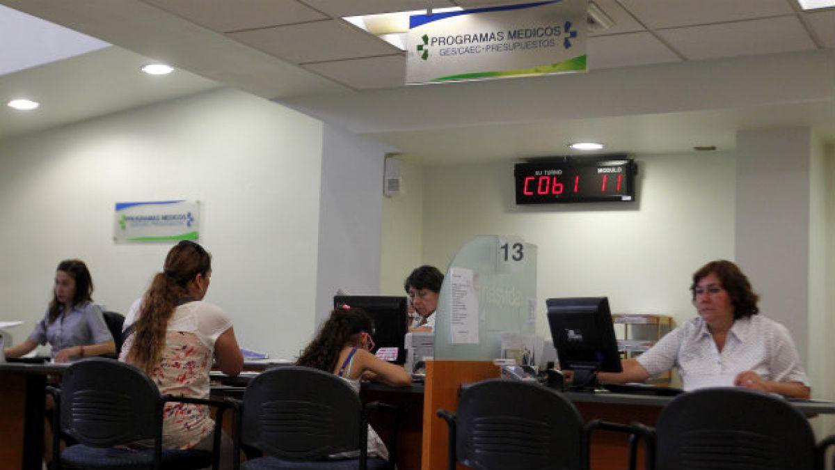 Isapres obtienen ganancias más altas en nueve años durante primer semestre de 2014
