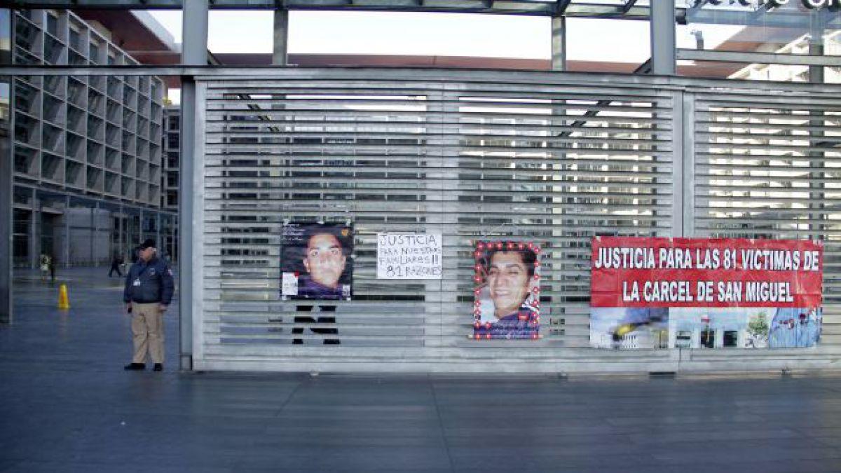 Cárcel de San Miguel: Los cuatro errores que el tribunal adjudicó a la investigación de la Fiscalía