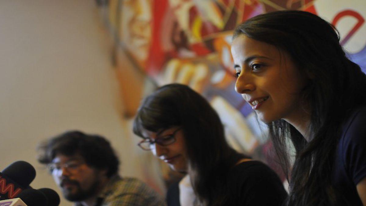 Estudiantes abren debate por financiamiento público a la UC