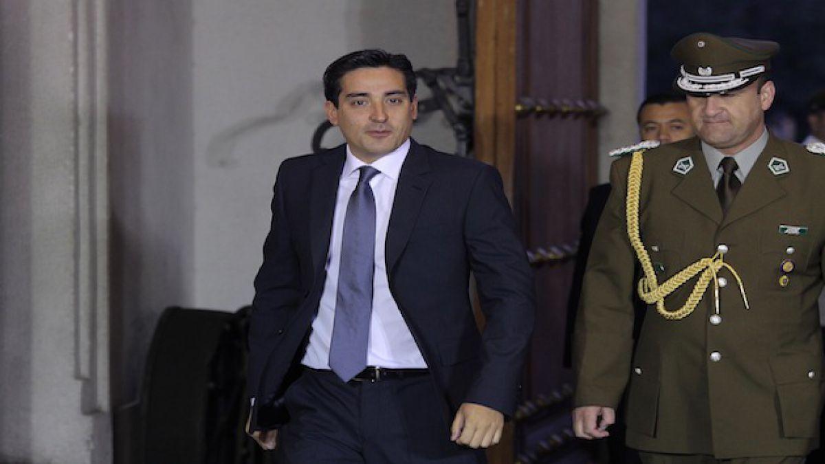 Peñailillo sobre dichos de Quintana: Diálogo, pero con sentido profundo de cambio