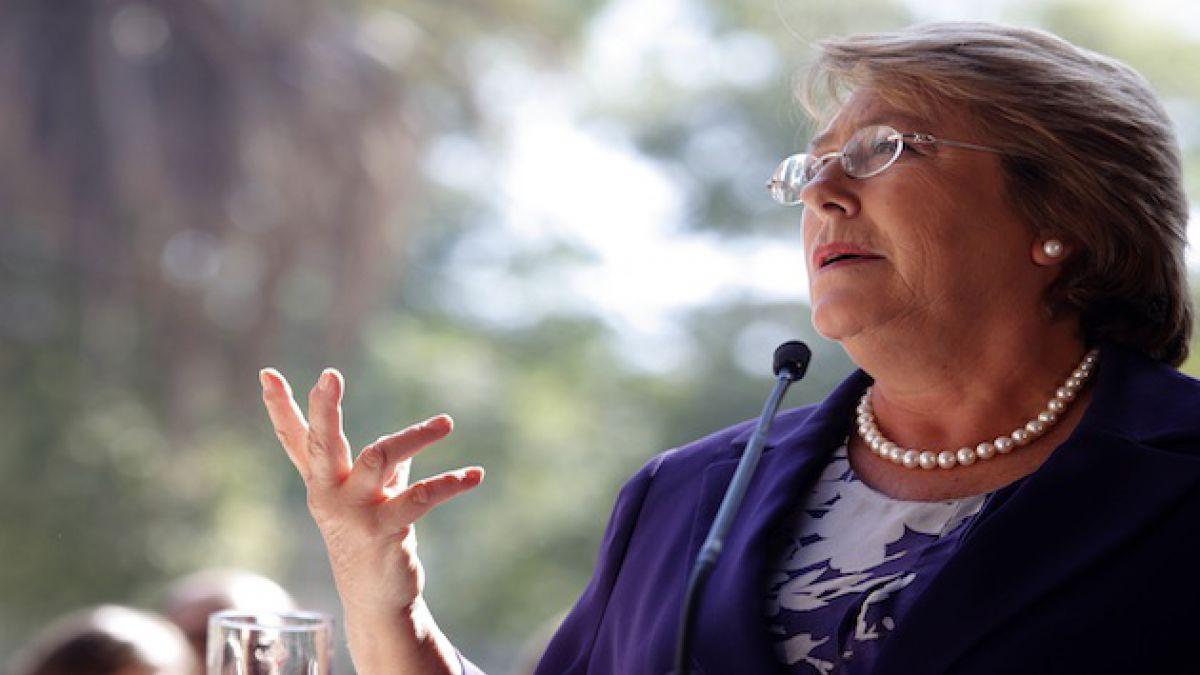 Presidenta Bachelet promulga ley que hace permanente el Bono Marzo