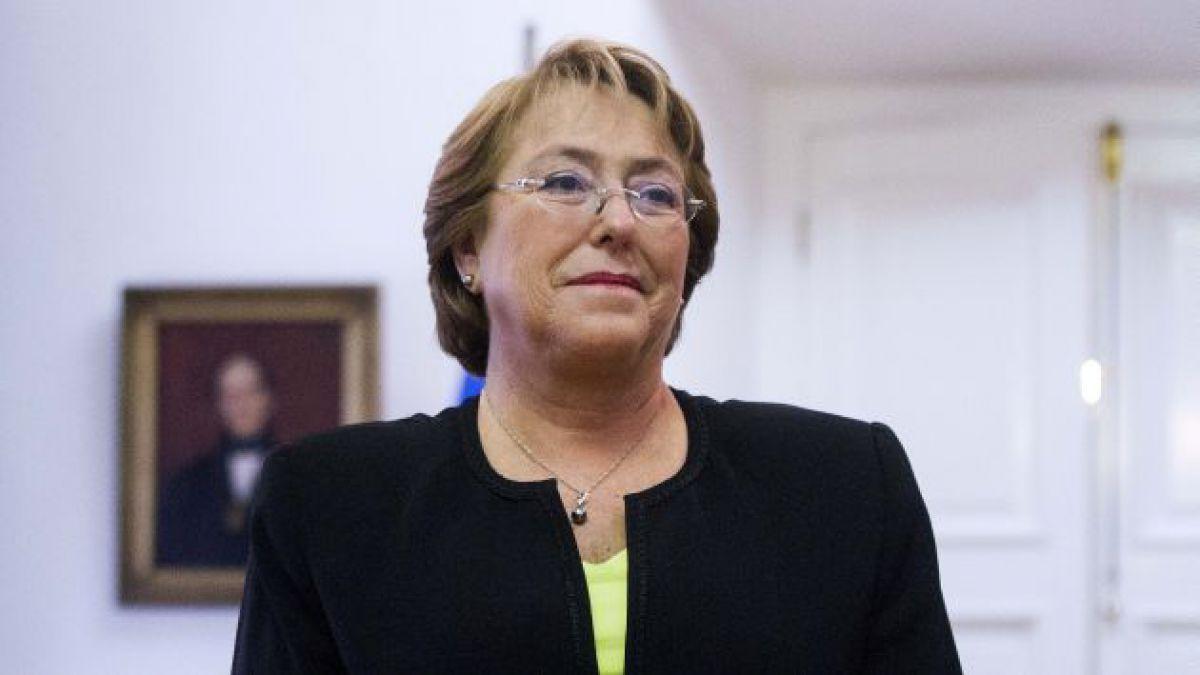 Bachelet ocupa lugar 25 en ranking de 100 mujeres más poderosas de Forbes