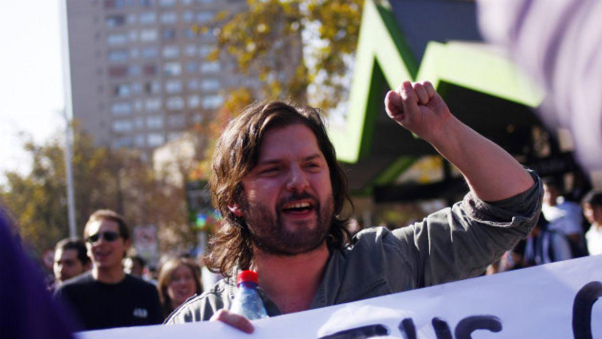 Gabriel Boric arremete contra Tohá por desalojo: El diálogo duró mientras fue candidata