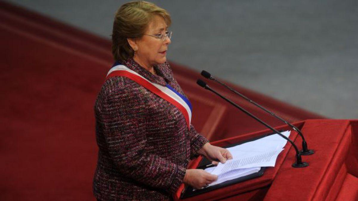 Los conceptos clave del mensaje 2014 de Bachelet y la comparación con su primer período
