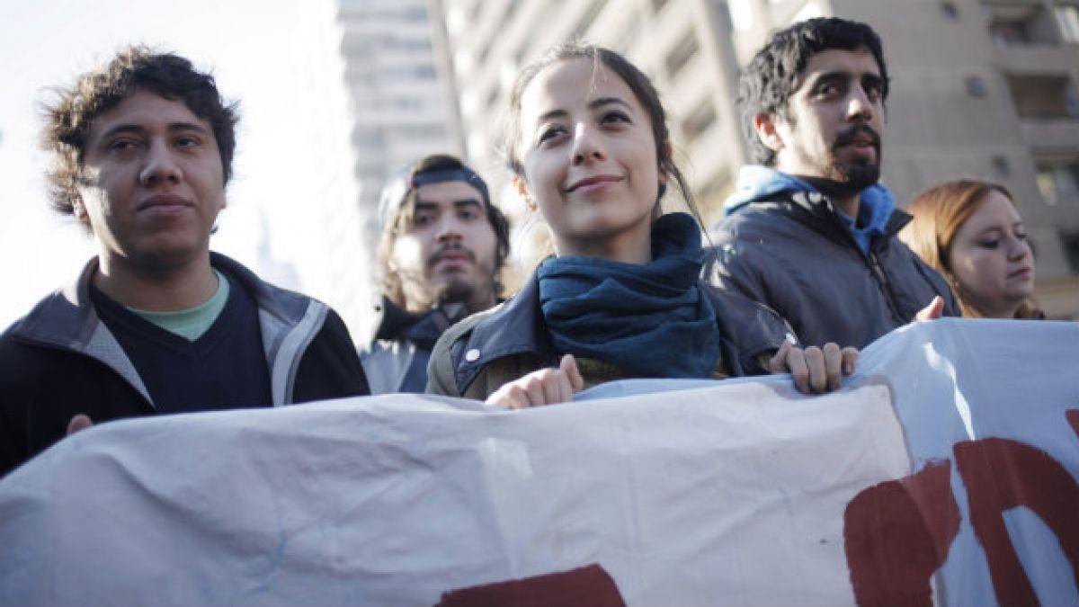 Estudiantes y mesa por la Educación promueven marcha del jueves por la Alameda